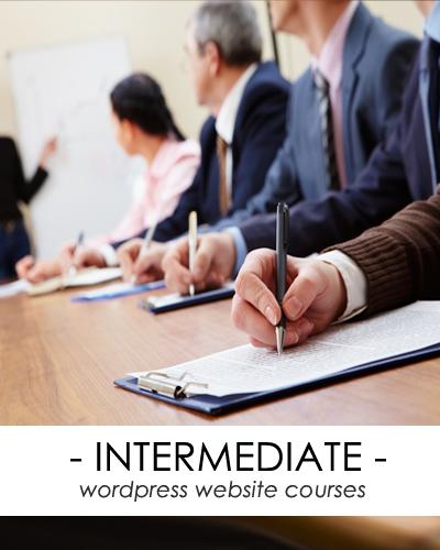 intermediate wordpress website courses