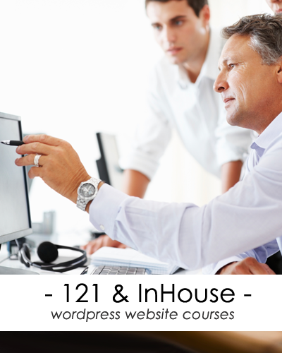1-2-1 website training courses