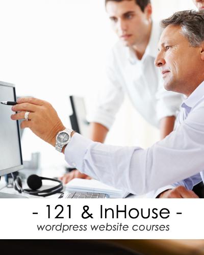 1-2-1 website training courses